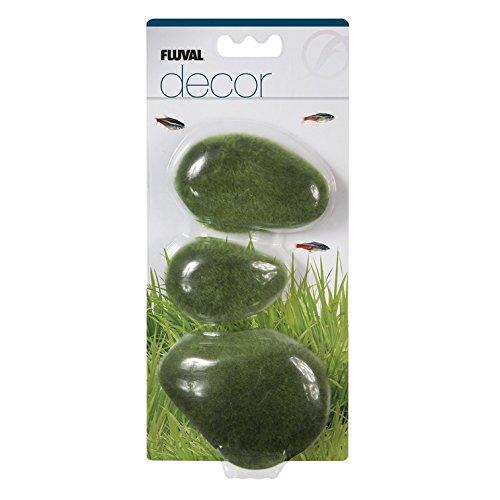 (Fluval Decor 3 Moss Stones for Aquarium, Large)