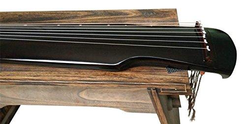 Nivel Principiante de Paulownia madera guqin cítara chino 7 instrumento de cuerda Fu Xi estilo: Amazon.es: Instrumentos musicales