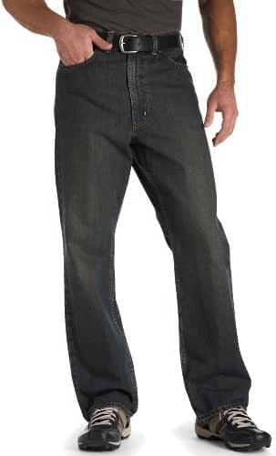 True Nation Big & Tall Relaxed-Fit Jeans (Brown Tint)