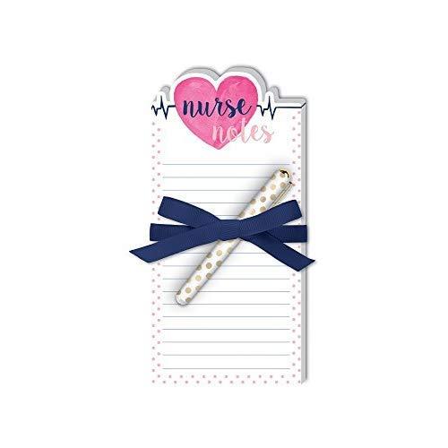 Lady Jayne Nurse Heart Die-Cut Note Pad with Pen (11864)