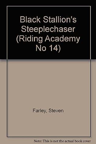 book cover of The Black Stallion\'s Steeplechaser