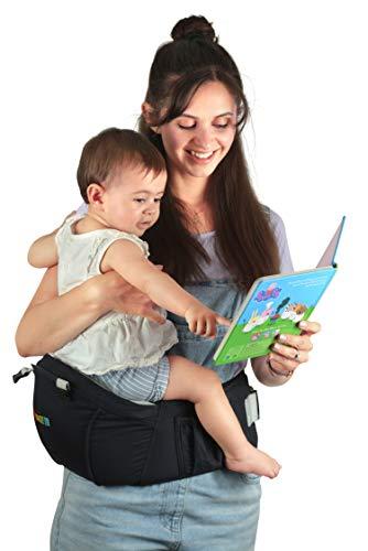 Nimnik Baby Sling Carrier Ergonomics Lightweight Hipseat With Lumbar