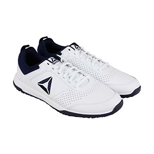 Reebok Mens CXT Athletic Shoes Leather Training Sport Sneaker (9 M US, White)