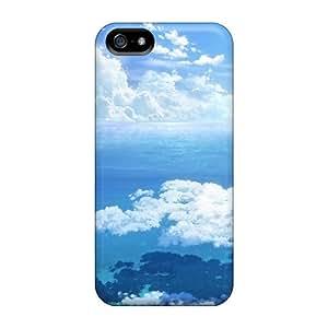 QKD1145YgOL R. Steven Skyscape Durable Iphone 5/5s Tpu Flexible Soft Case