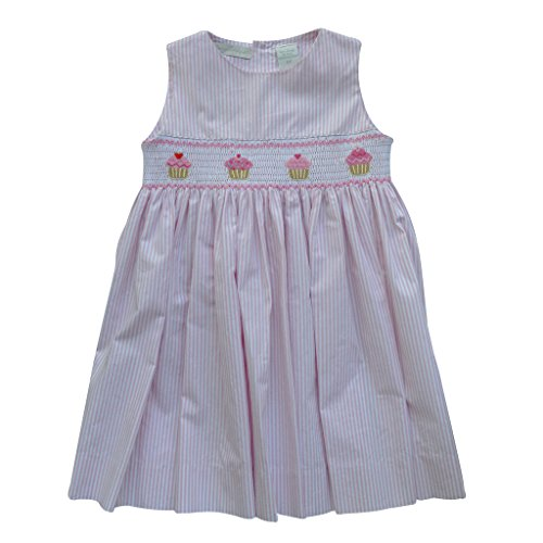 infant cupcake birthday dress - 3