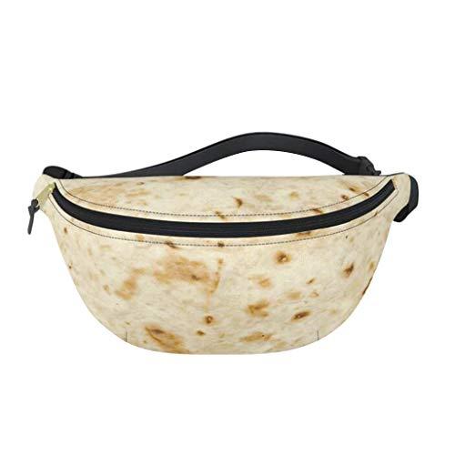 UMFunBurrito Baby Adult Tortilla Blanket Fanny Pack Novelty Fashion Dad Waist Bag ()