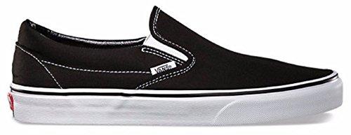 Vans+Unisex+Classic+Slip-On+Loafer+Black+Size+12+M+US+Women+%2F+10.5+M+US+Men