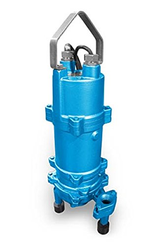 Barmesa Pumps BGP202DS Grinder Pump, 2 hp, 1 Phase, 60 Hz, 230V, 3500 RPM Manual Float Switch. 30' Cord Length. Vertical, Stainless Steel/Cast Iron ()