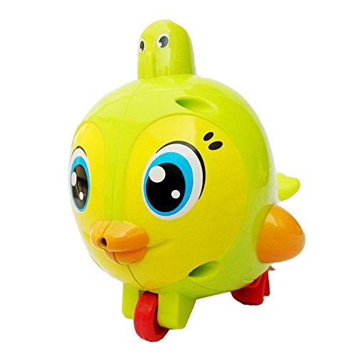 2 pcs Lovely Bird Toy Baby Bird Ground Toy Baby Bath Toy,Clockwork Dabbling Toy Water Fun Play Tools Wind Up Bathtub (Toy Story Abc Family Halloween)