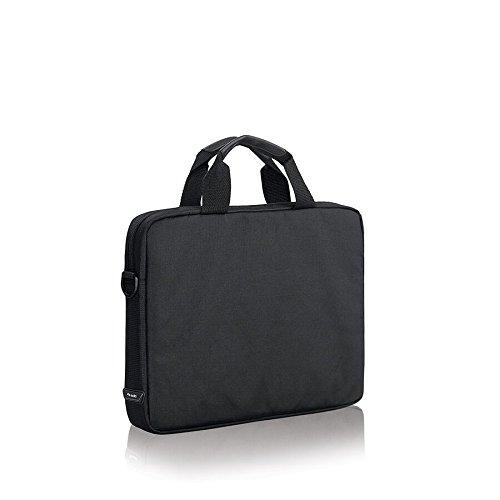 Solo Flatiron 14.1 Inch Laptop Slim Brief, Black/Grey by SOLO (Image #3)
