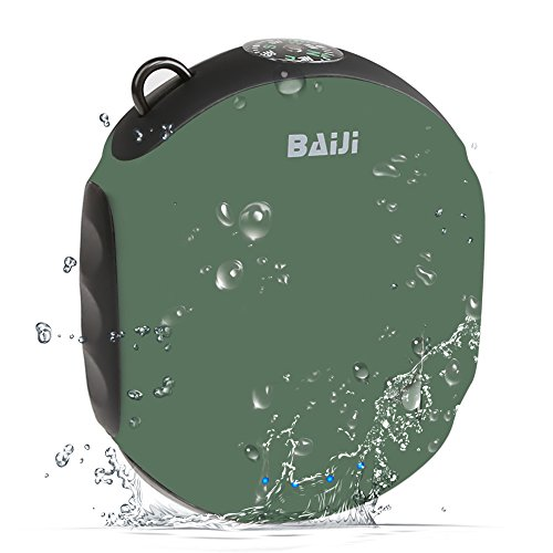Waterproofing Power Bank, BaiJi(TM) iPhone Charger with Flashlight LED & Compass for...