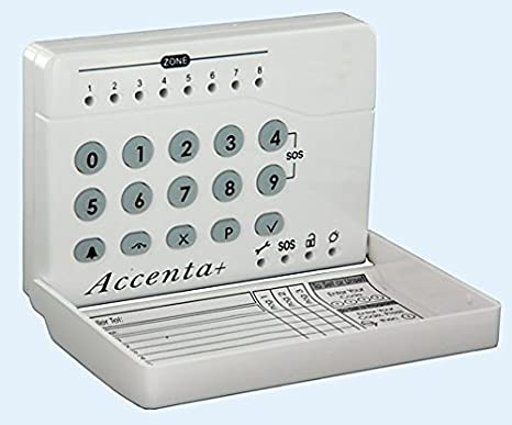 Accenta G4 Metal Cased alarm Panel