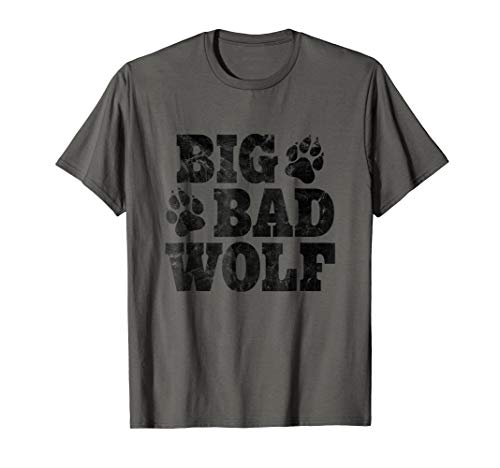 Big Bad Wolf Halloween Shirt Halloween Costume Men Women