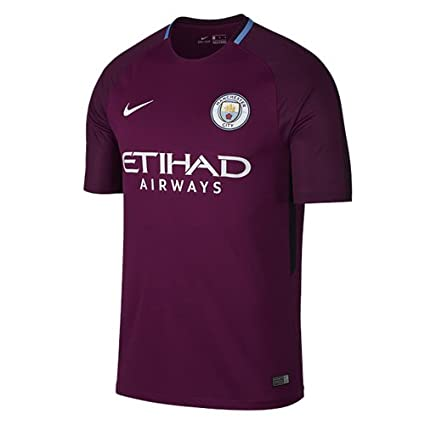 Amazon.com   Nike Breathe Manchester City FC FC Stadium Jersey  True ... 70ce18e804b8