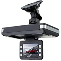 Car Driving Recorders, KOOZIMO 2 in 1 MFP 5MP Car DVR Recorder+Radar Laser speed Detector Trafic Alert English