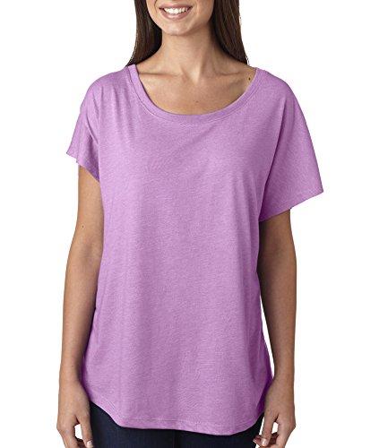Next Level Apparel 6760 Lady Tri-Blend Dolman Tee Shirt -