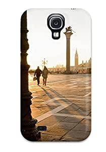 Tpu Case For Galaxy S4 With Townsquare Space Meeting Place Square Nature Other