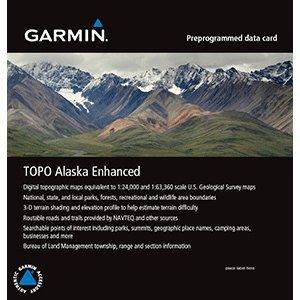 Garmin TOPO Alaska Enhanced on MicroSD/SD
