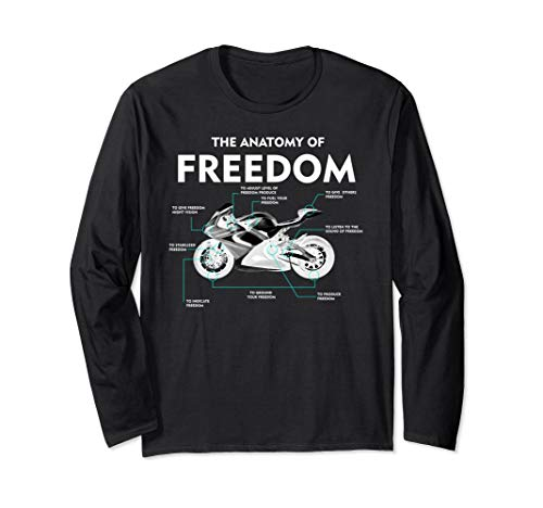 The Anatomy Of Freedom Shirt | Cute Supermotos T-shirt Gift (Jacket Supermoto)