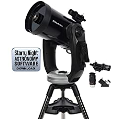 A rock-solid dual Fork arm mount and large aperture At an affordable price: that's what makes the CPC telescope series a favorite among experienced amateur astronomers. Celestron's revolutionary skyalign plus an internal GPS make alignment a ...