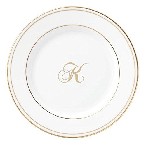 Lenox Federal Gold Script Monogram Dinnerware
