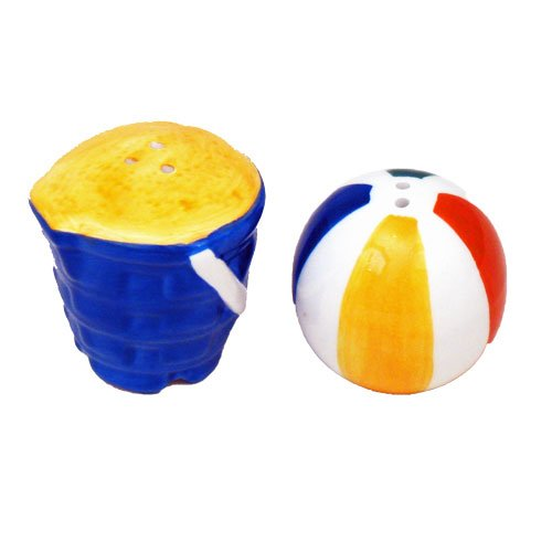 41uUamuZDcL The Best Beach Themed Salt and Pepper Shakers