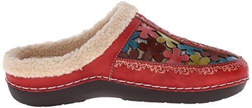 Mule L'Artiste para mujer Red de Woodbine Step Spring YqwrYA