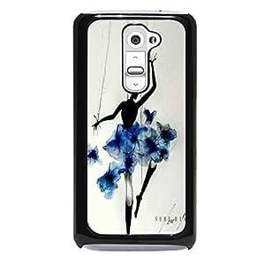 Gracegul Dance Phone Case For LG G2 Marionette Dancing Girl