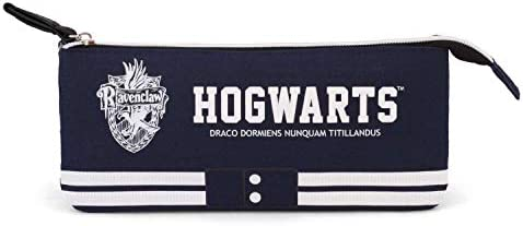 Teenager Harry Potter Ravenclaw-Triple HS - Estuche para lápices (24 cm, 100% nailon), color azul: Amazon.es: Hogar