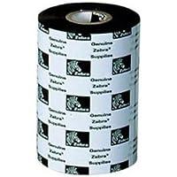 Zebra Technologies 03200BK11030 3200 Standard Wax/Resin Ribbon, 4.33