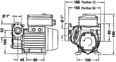 Pompa di trasferimento gasolio Panther 56 Ama