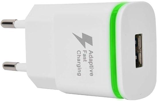 ASHATA - Cargador de Pared USB (50/60 Hz, 0,5 A, Carga rápida ...