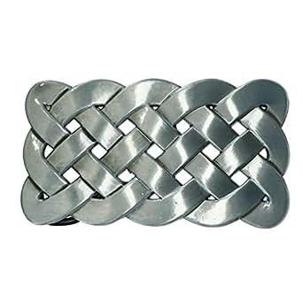 CTM Celtic Knot Belt Buckle, Silver