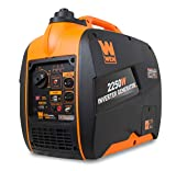 WEN 56225i Super Quiet 2250-Watt Portable Inverter Generator with...