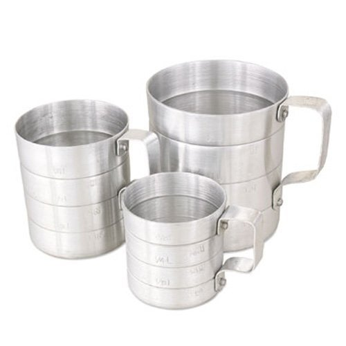 Browne (M05) 1/2 qt Aluminum Dry Measuring Cup