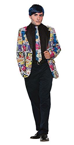 Forum Men's Pop Art Male Tie, as Shown, Standard -