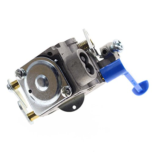 Carburetor for Husqvarna Trimmer Weedeater Wacker Edger 28cc 124L 125L 125LDX 128C 128L 128LD 128R 128RJ Poulan Replaces Zama C1Q-W40A W38 with Air Filter Tool Fuel Line Filter Carb Tune-up Kit