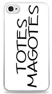 Totes Magotes iPhone 6 White Hardshell Case