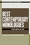 Best Contemporary Monologues for Men 18-35