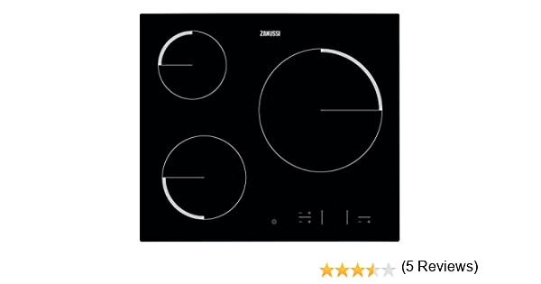 Zanussi ZEV6330FBA hobs - Placa vitrocerámica con control táctil Easy Touch, Negro