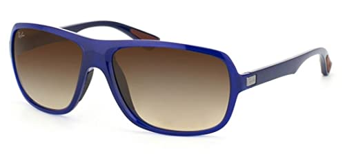 Amazon.com: Ray-Ban RB4192 RB4192 Gafas de sol 600513 Azul ...