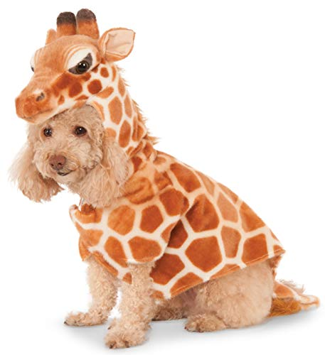Giraffe Hoodie for Pet, Large]()