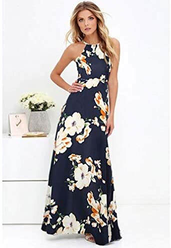 Plus Size Women Holiday Off Shoulder Floral Maxi Ladies Summer Beach Party Dress