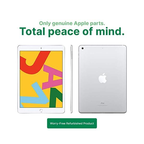 "Apple iPad   9.7""   6th GEN   WI-FI   32GB   Silver   2018   (Renewed) 3"