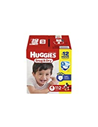 HUGGIES Snug & Dry Diapers, Size 4, 112 Count (Packaging May Vary) BOBEBE Online Baby Store From New York to Miami and Los Angeles