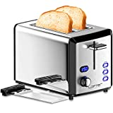 Best Toasters - 2 Slice Toaster, LOFTER Mirror Stainless Steel Toaster Review