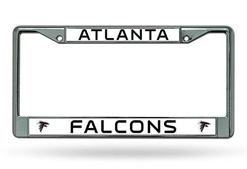 NFL Atlanta Falcons Chrome Plate Frame