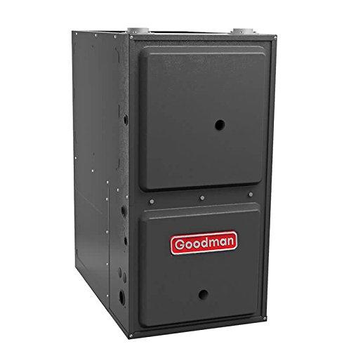 Goodman GMVM960805CX 80,000 BTU Furnace, 96% Efficiency, Modulating Burner, 2,000 CFM Variable Speed Blower, Upflow / Horizontal Flow Application