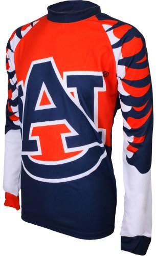 - NCAA Auburn Tigers Mountain Bike Cycling Jersey (Team, Small)
