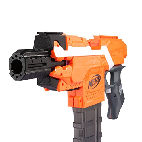 Stryfe Decor, Worker 3D Printed Connector Kit Adapter for Nerf N-Strike Elite Stryfe Blaster by Do co-sport